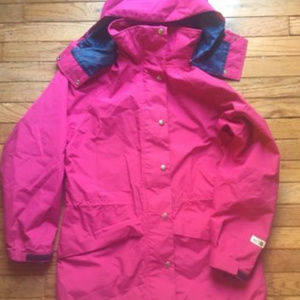The North Face Vintage Brown Label Gore Tex Parka